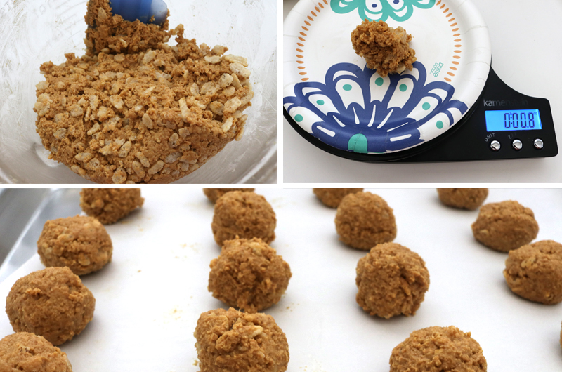 How to assemble the Halloween Peanut Butter Crunch Truffles