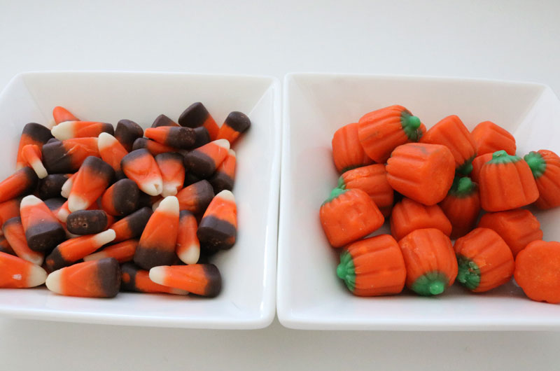 Candy Mix-ins for Harvest Corn Popcorn