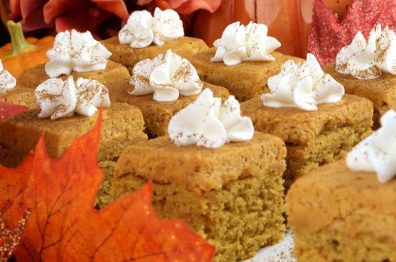 Pumpkin Spice Cake Bites