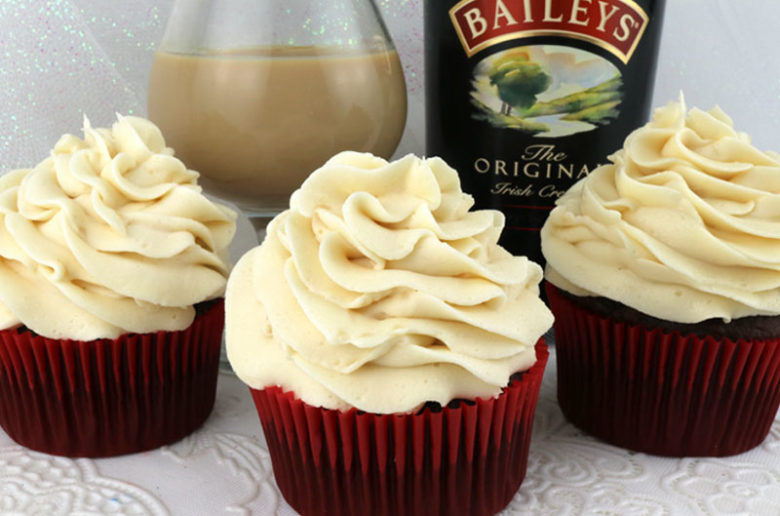 Baileys Irish Cream Buttercream Frosting