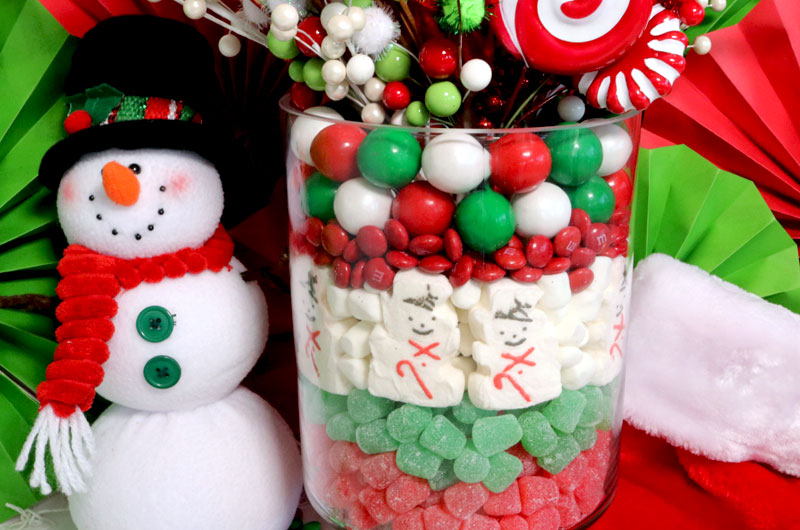 christmas candy centerpiece this will be everyones favorite christmas decoration so fun and so