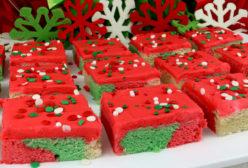 Christmas Marble Sugar Cookie Bars
