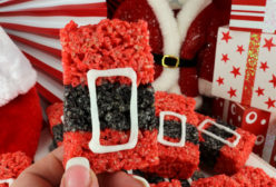 Santa Claus Rice Krispie Treats