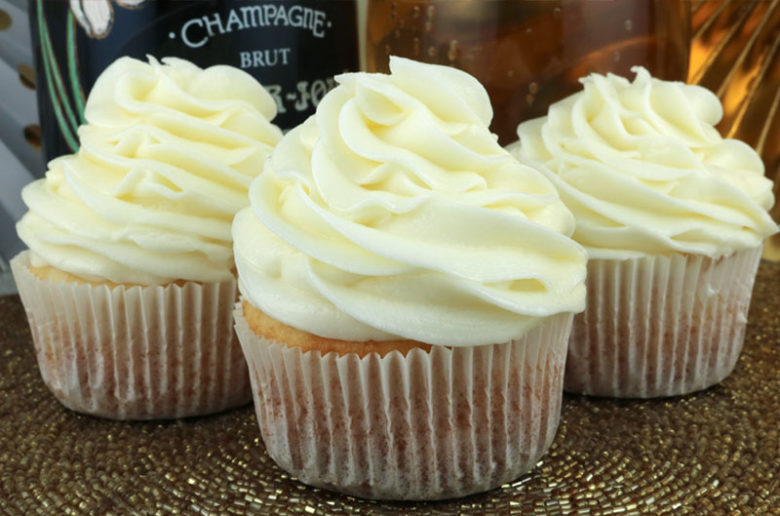 Champagne Buttercream Frosting