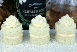 Champagne Cake Bites