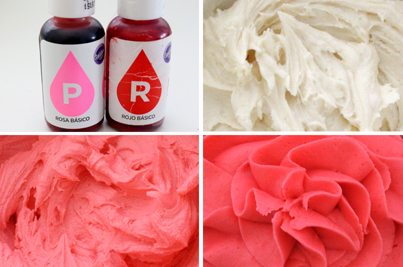 How To Make Dark Pink Frosting