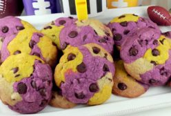 Minnesota Vikings Chocolate Chip Cookies