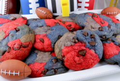 New England Patriots Chocolate Chip Cookies