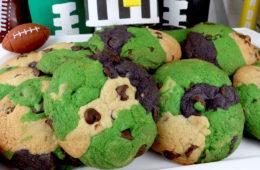 Philadelphia Eagles Chocolate Chip Cookies