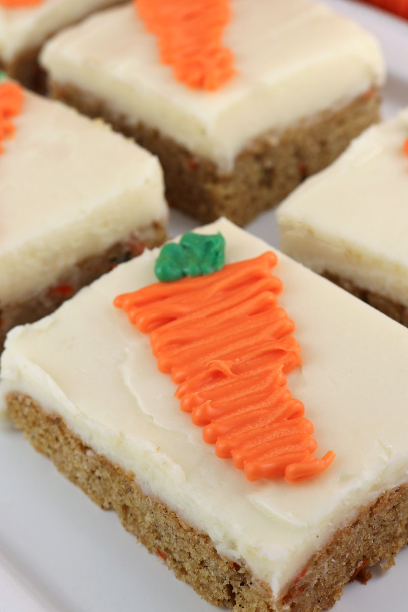 Wonderful Carrot Cake Bars