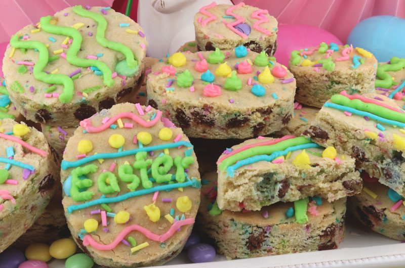 Easter M Amp M Sugar Cookie Bars Two Sisters