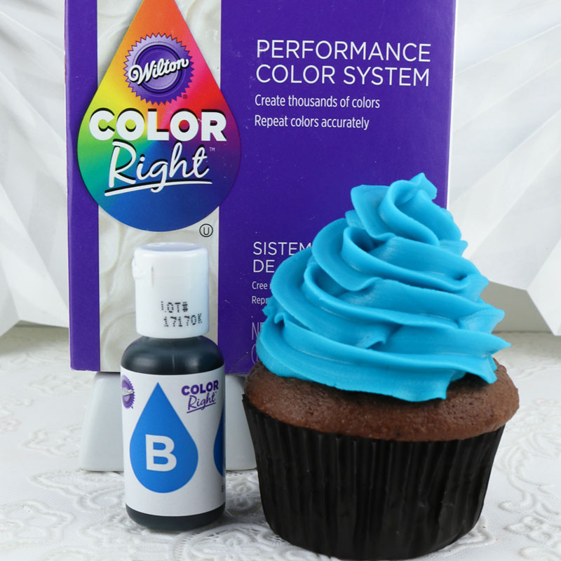 Wilton Color Right Food Coloring Blue Two Sisters