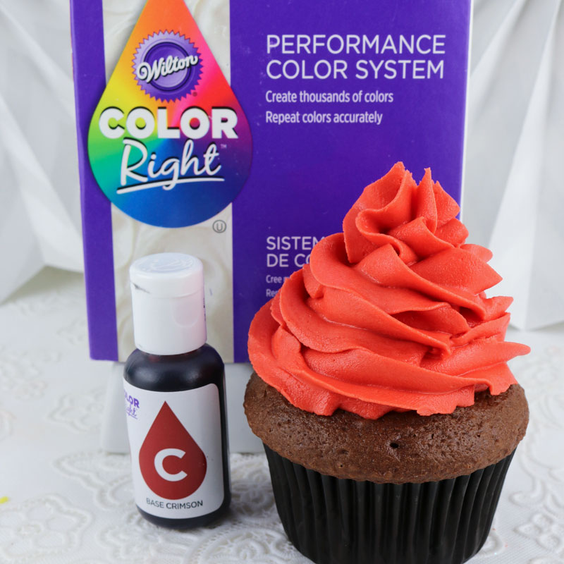 Wilton Color Right Food Coloring Crimson Two Sisters