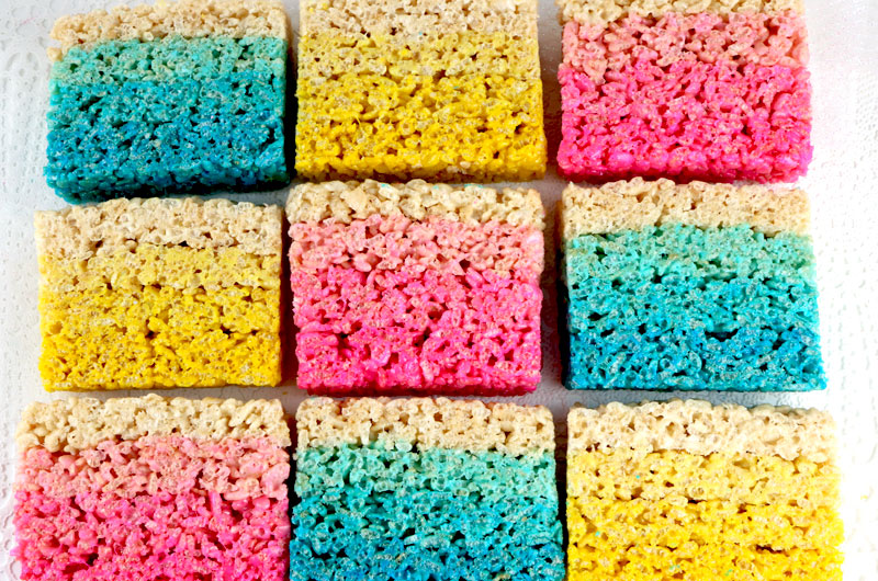 Rice Krispie Treats Color Guide - Two Sisters