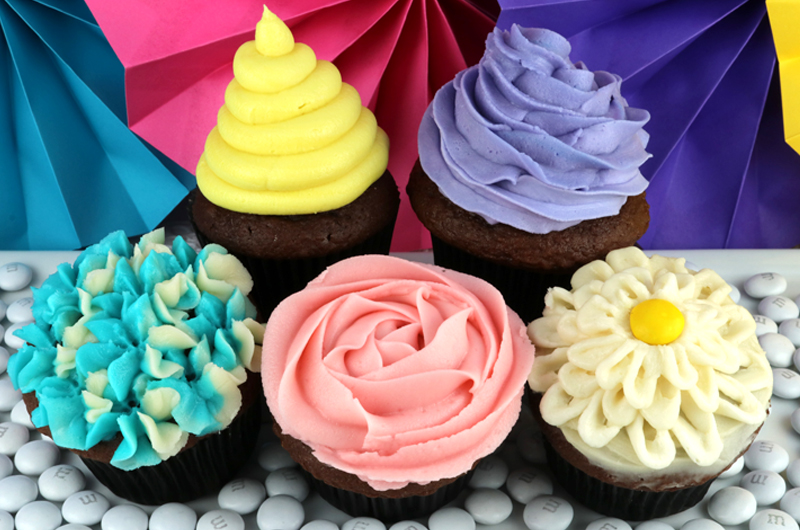Five Ways To Decorate A Cupcake Two Sisters