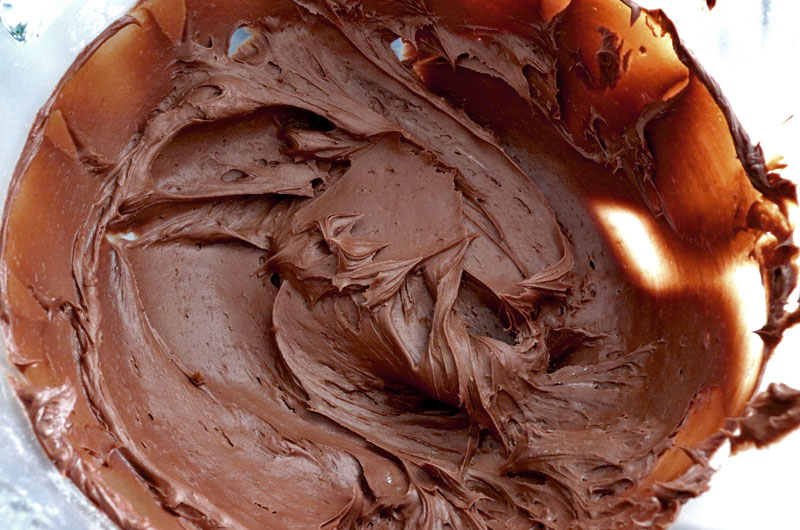 The Best Chocolate Cream Cheese Frosting is creamy, tangy, chocolate-y and super