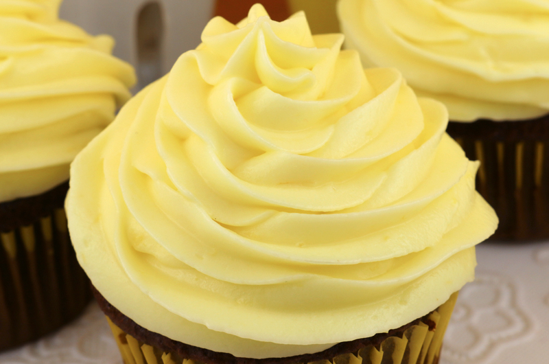 The Best Lemon Cream Cheese Frosting Two Sisters