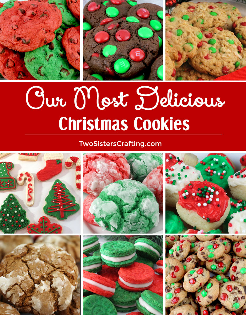 Our Most Delicious Christmas Cookies Two Sisters