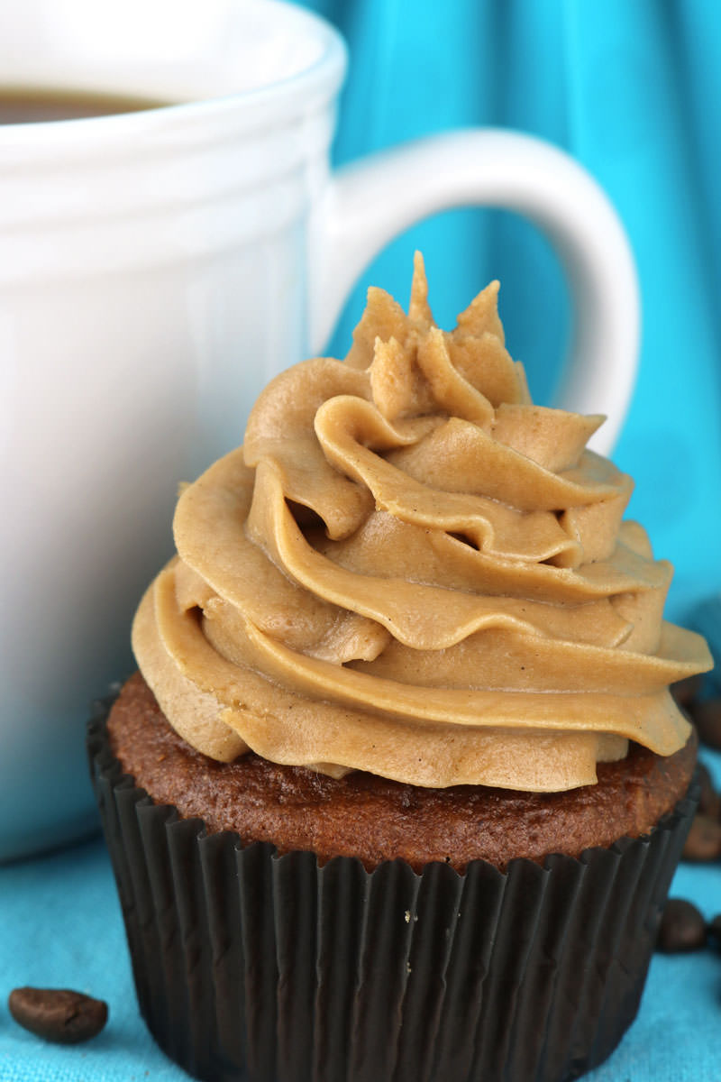 The Best Coffee Whipped Cream Frosting - Two Sisters