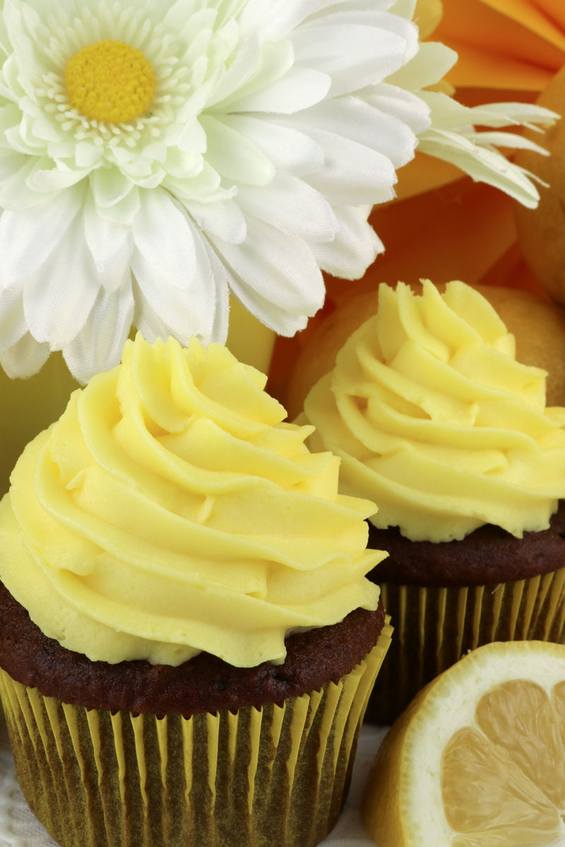 The Best Lemon Whipped Cream Frosting - Two Sisters